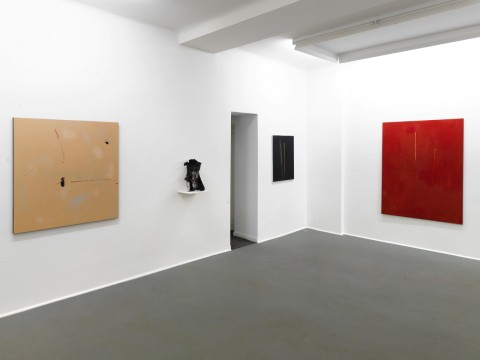 Thomas Helbig 2012 The Mental Life of Savages Exhibition view Galerie Guido W. Baudach