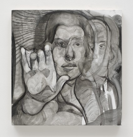 Maya  Bloch Untitled (Figure with hand) 2015 Life goes on without me