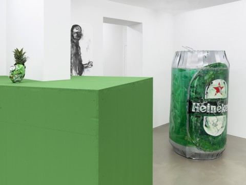 The Beer Promoter Exhibition view Galerie Guido W. Baudach
