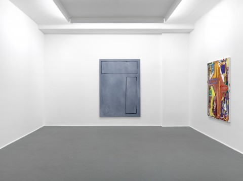2011 André Butzer Exhibition view Galerie Guido W. Baudach