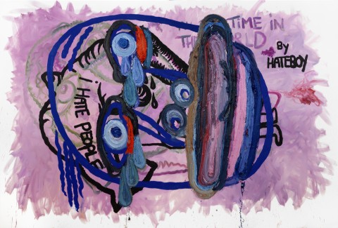 Bjarne Melgaard Untitled 2011 The Night Within Us!